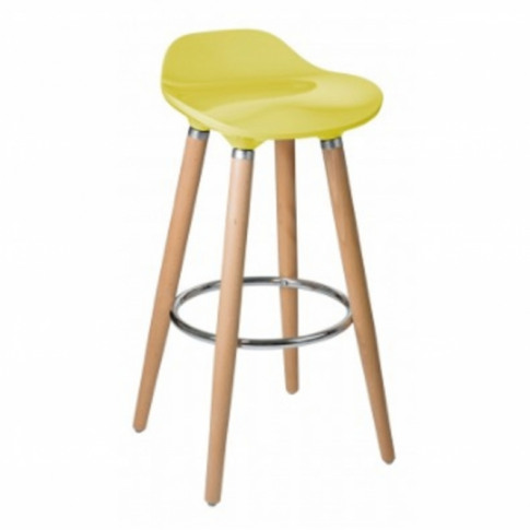 Yellow Breakfast Bar Stool