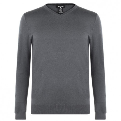 Callaway Knit Jumper - Quiet Shade Gre