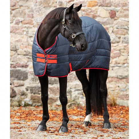 Mio Insulator 150gm Stable Rug - Navy/Red