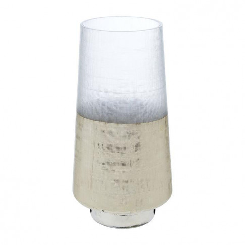 Linea Etched Gls Vase 92