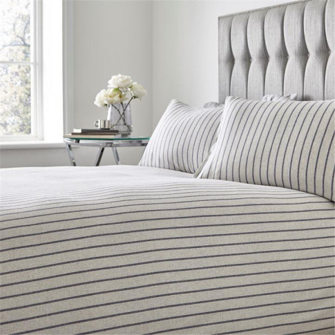 Hotel Collection Lars Duvet Cover - Stone