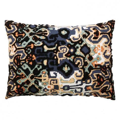 Linea Gray Tilly Boucle Tile Cushion Cover