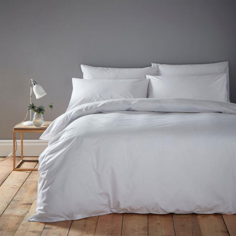 Linea Cotton Rich Fitted Sheet - White
