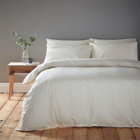Linea Cotton Rich Fitted Sheet - Ivory