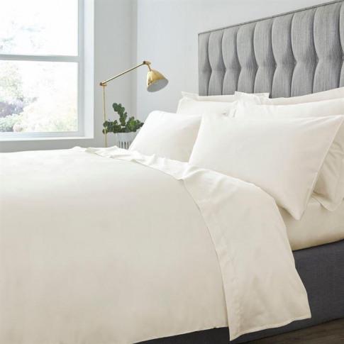 Hotel Collection Hotel 500tc Egyptian Cotton Oxford Pillowcase - Cream