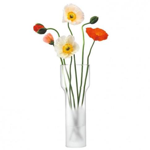 Lsa Mist Vase H35cm - White