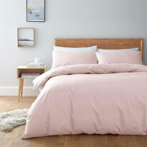 Linea Egyptian 200 Thread Count Fitted Sheet - Blush