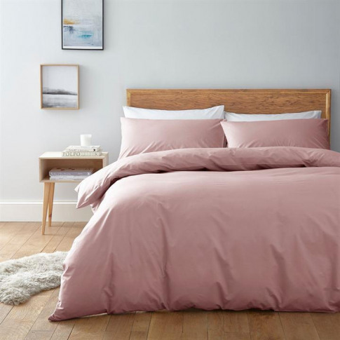 Linea Egyptian 200 Thread Count Fitted Sheet - Rose