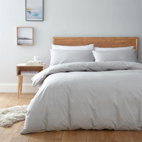 Linea Egyptian Cotton Pillowcase - Light Grey