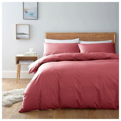 Linea Egyptian Cotton Pillowcase - Coral
