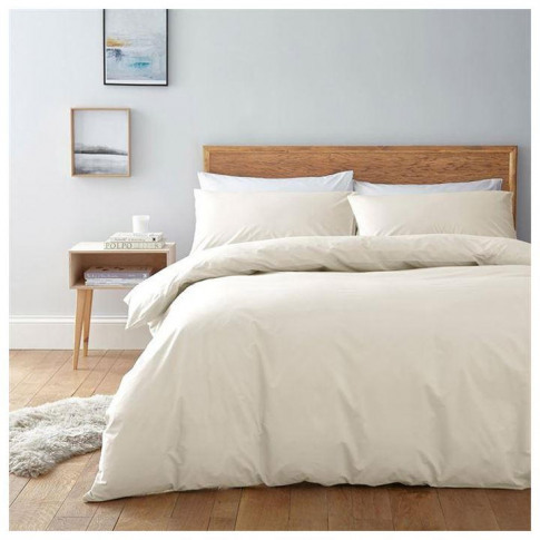 Linea Egyptian Cotton Oxford Pillowcase - Antique White