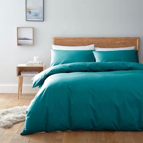 Linea Egyptian Cotton Oxford Pillowcase - Emerald