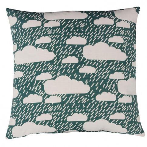 Donna Wilson Cushion - Rainy Day Green