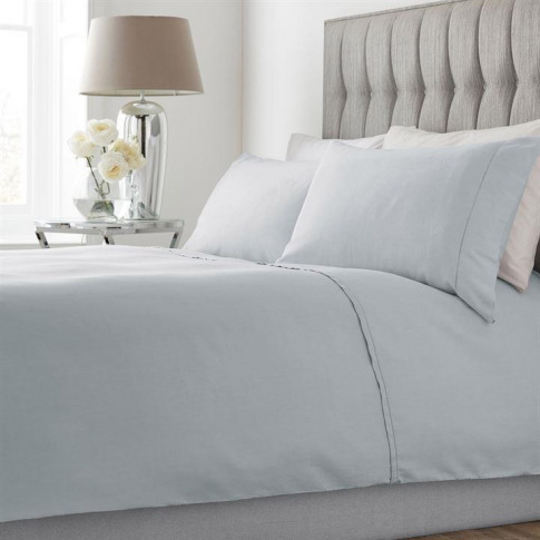 Hotel Collection Emma Waffle Duvet Cover - Darcy Grey