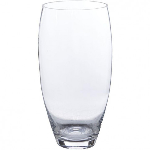 Hotel Collection Bullet Clear Vase 30cm - Clear