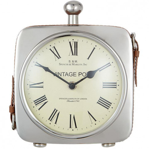 Hotel Collection Square Table Clock