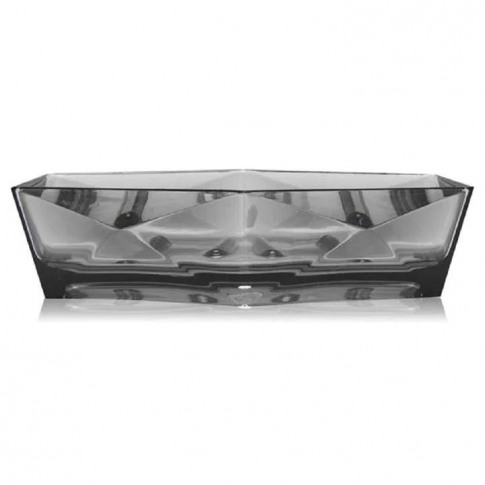 Biba Biba Soap Dish - Faceted Grey