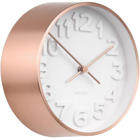 Karlsson Wall Clock Stout Copper