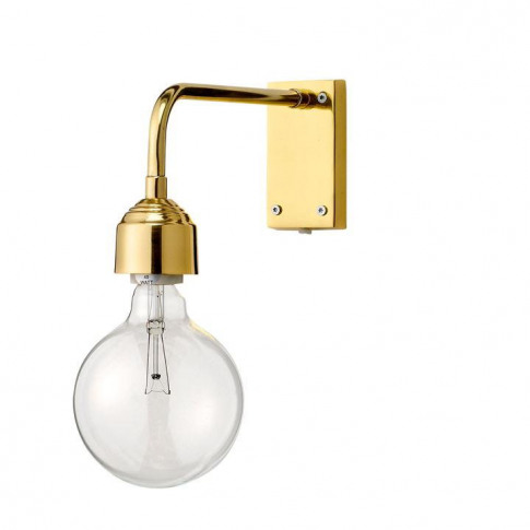 Bloomingville Gold Metal Wall Lamp - Gold