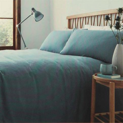 Linea Linea Fletcher Duvet Set - Blue
