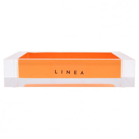 Linea Linea Acrylic Soap Dish - Orange