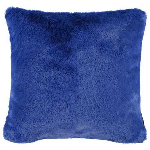 Biba Biba Faux Fur Cushion - Sapphire