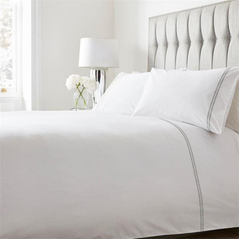 Hotel Collection Elodie Duvet Set - Elodie - Grey