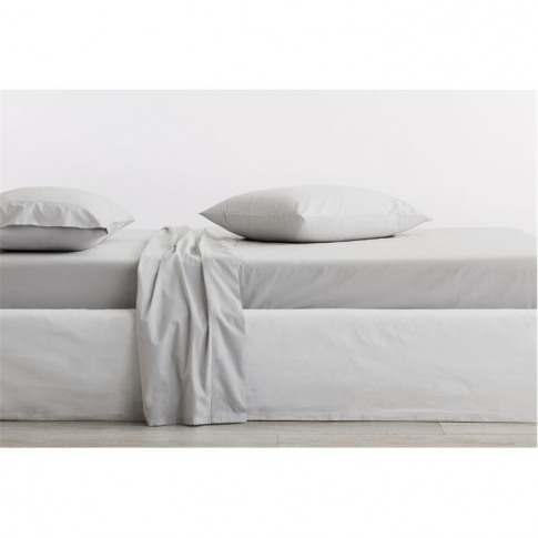 Sheridan Organic 300tc Percale Fitted Sheet - Dove