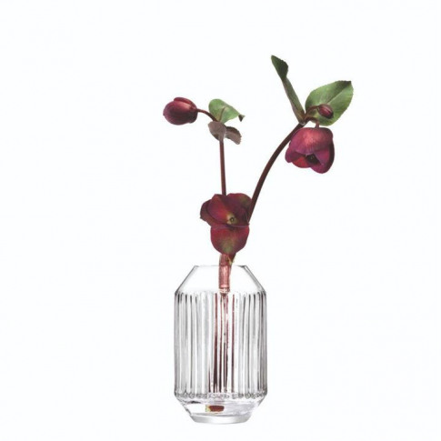 Lsa Rotunda Vase H15cm - Clear