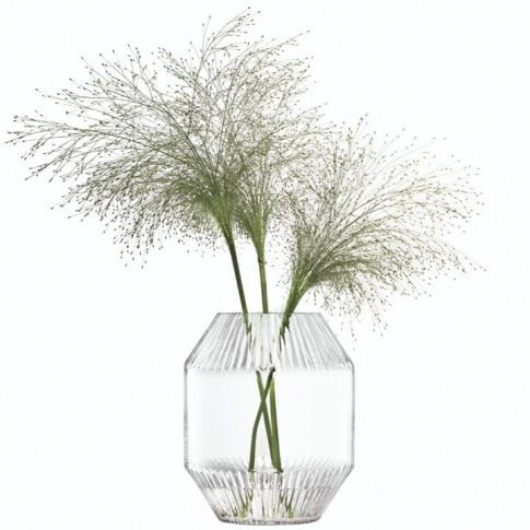 Lsa Rotunda Vase H20cm - Clear