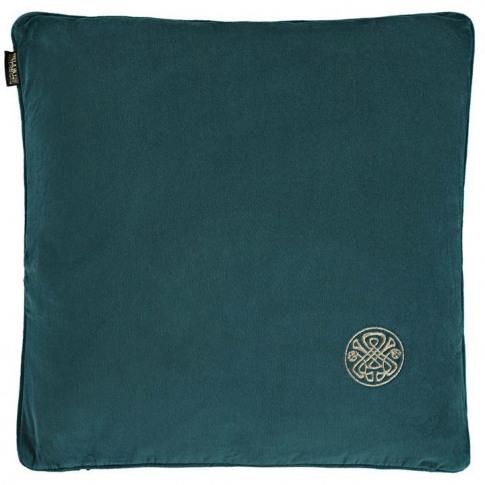Biba Velvet Cushion - Teal
