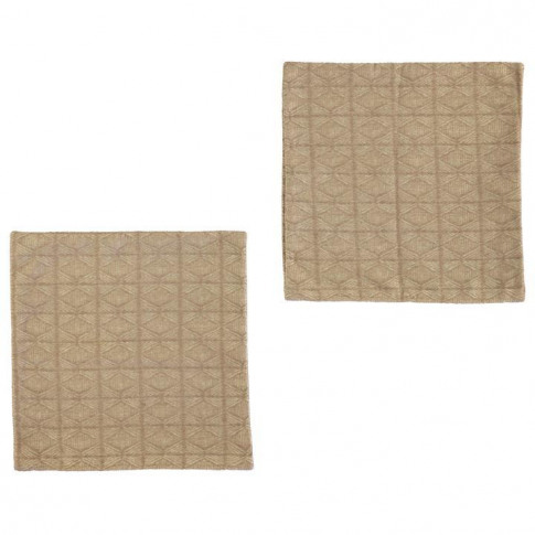 Linens And Lace Chenille Cushion Covers - Natural