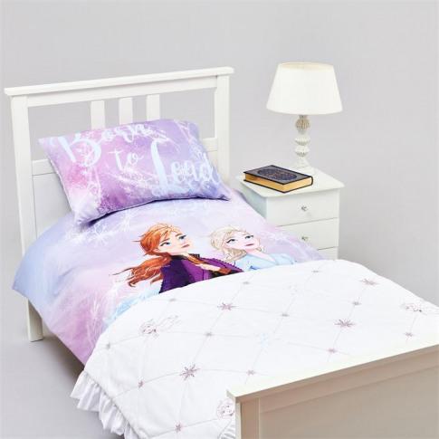 Character Frozen Ii Quilted Blanket - Elsa/Anna