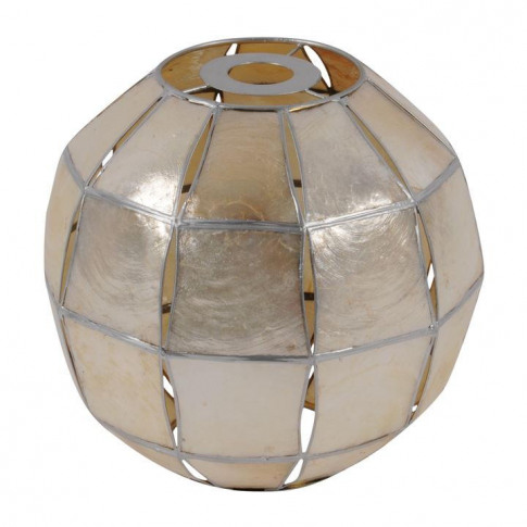 Stanford Home Capiz Ball Lampshade - Champagne