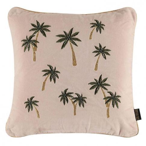Biba Embellished Palm Tree Cushion - Emb Palm Tree