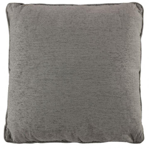 Linens And Lace Chenille Cushion - Grey