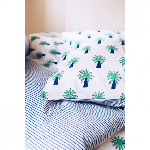 Lulu And Nat Palm Pillowcase