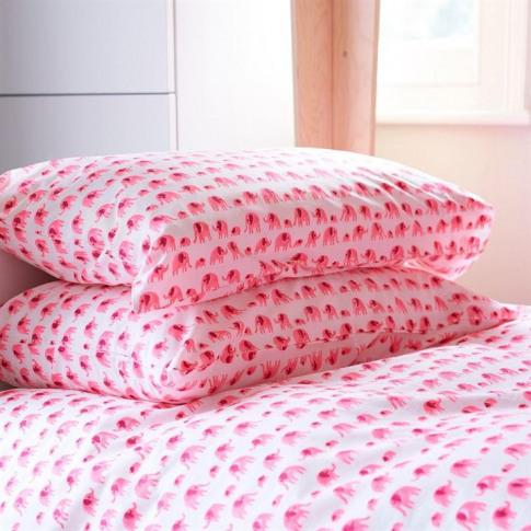 Lulu And Nat Elephant Pillowcase