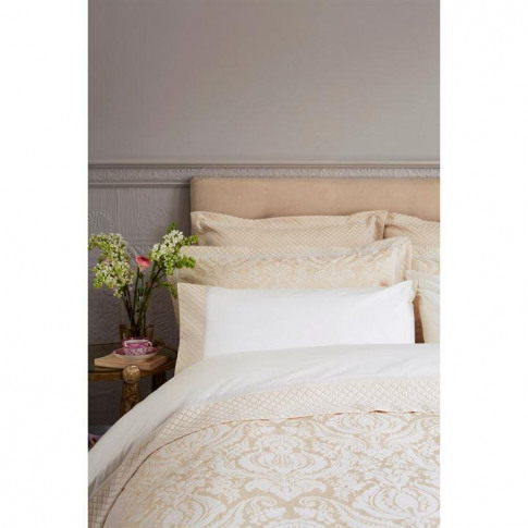 Christy Palace Oxford Pillowcase Pair Gold