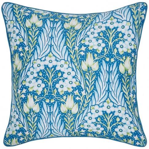 Alyssum 40x40 Blue Cushion