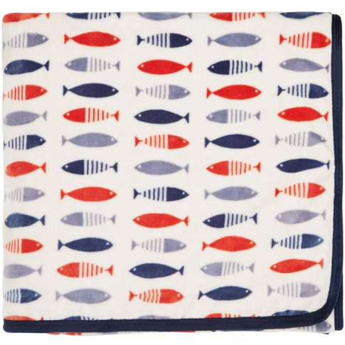 Helena Springfield Tropez 140x180 Nautical Fleece Throw