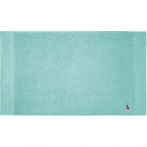 Ralph Lauren Player Aqua Bath Mat