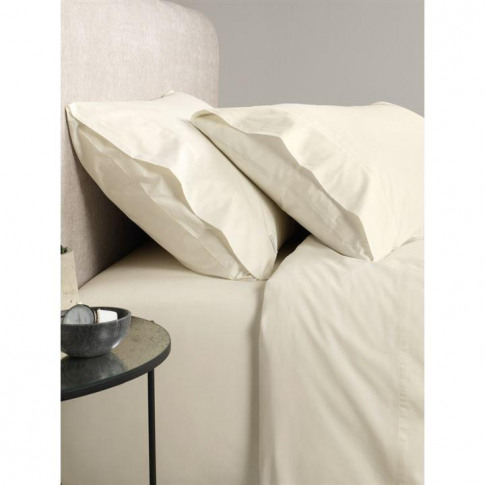 Sheridan Classic Percale Chalk Single Fitted Sheet
