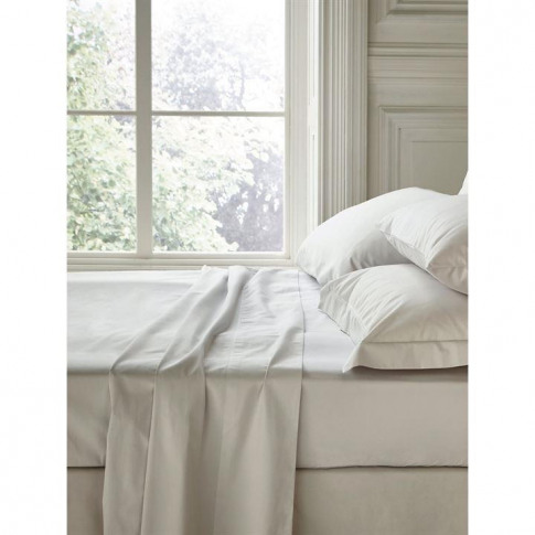 Fable King Fitted Sheet Silver