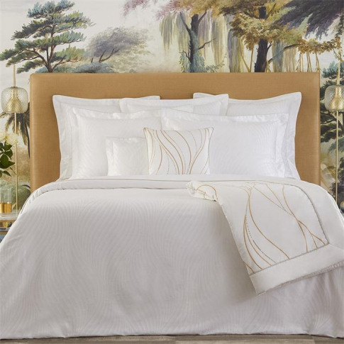 French Linens Plisse Square Oxford Pillowcase