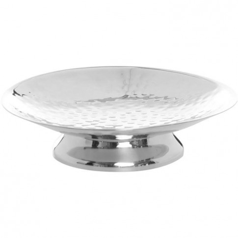 Linea Hammered Metal Soap Dish