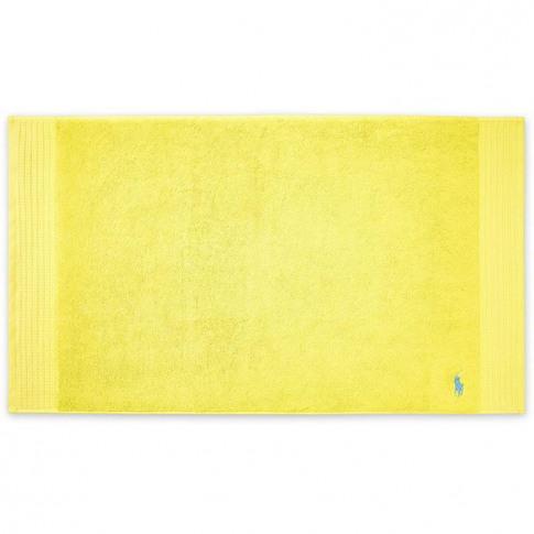Ralph Lauren Player Yellow Bath Mat