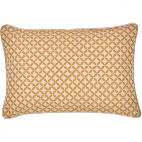 Christy Penzance Filled Cushion - Tangerine
