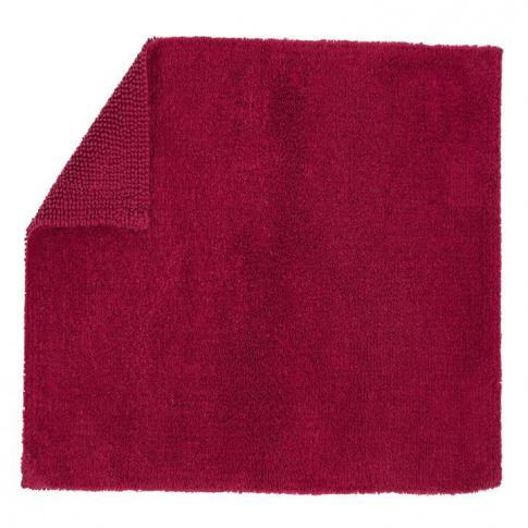 Christy Reversible Medium Rug - Raspberry