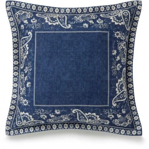 Ralph Lauren Home Indigo Cottage Cushion Cover - Blue